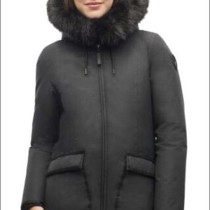 Nobis Very Warm Midnight Black Jacket! Xs & M Avai